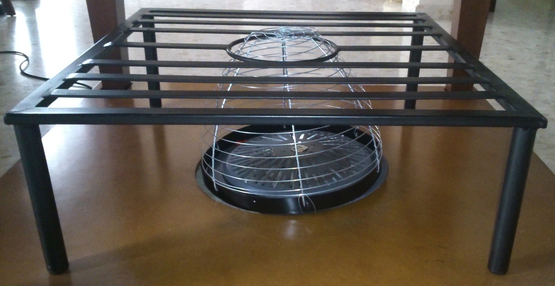 Posapies para mesa camilla rustiluz - Mesa camilla moderna ...