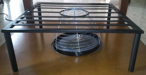 Mesas de forja a medida y regulables en altura - Mesa camilla moderna ...