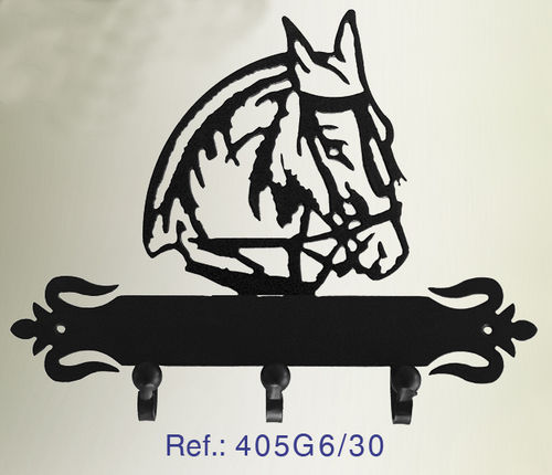 PERCHA DE PARED CABALLO 405G6