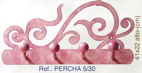 PERCHA DE PARED DE FORJA PERCHA5