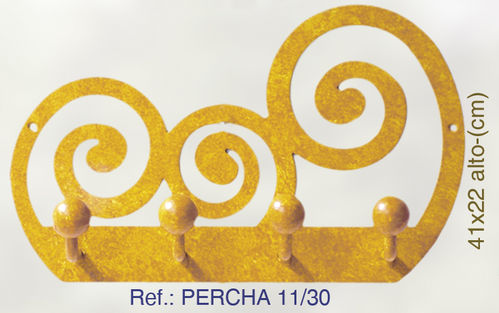 PERCHA DE PARED CARACOLES PERCHA11