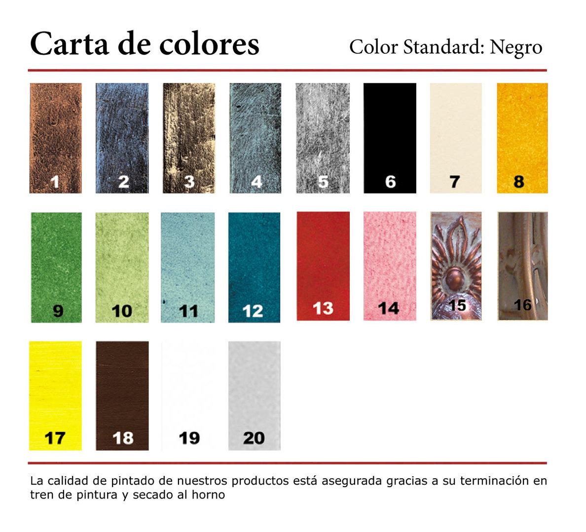 Barra de cortina de forja ref bc12 rustiluz - Barras de forja para cortinas ...