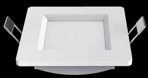 DOWNLIGHT LED SERIE INTEGO 8W 330LM 11X11X3.2 BLANCO 4000K