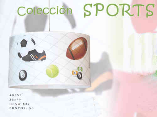 COLGANTE INFANTIL SPORTS 499SP