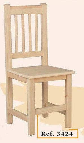 Sillas de madera maciza elije color de barniz y modelo de for Modelos de sillas de madera